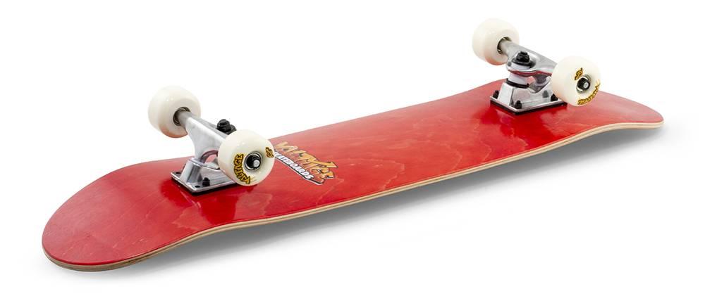 VOLTAGE SKATEBOARDS VOLTAGE COMPLETE SKATEBOARD, RED