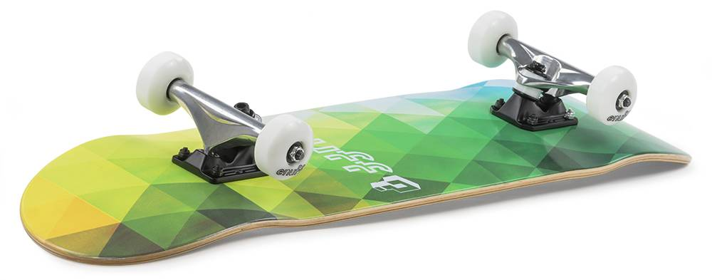 ENUFF SKATEBOARDS ENUFF GEOMETRIC  COMPLETE, GREEN
