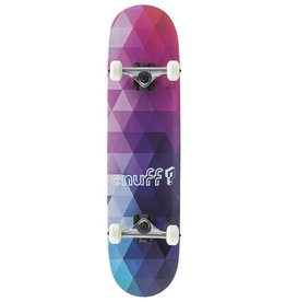 ENUFF SKATEBOARDS ENUFF GEOMETRIC  COMPLETE, PURPLE