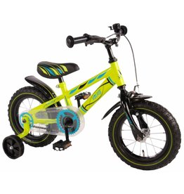 YIPEEH  Volare Electric Green Kinderfahrrad 12 Zoll
