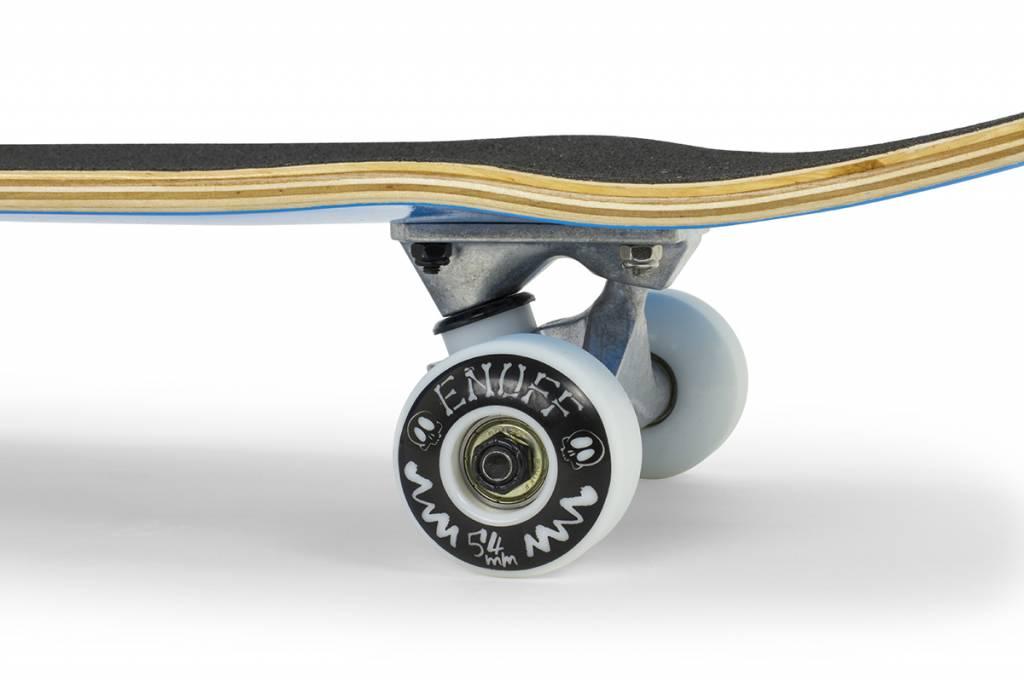 ENUFF SKATEBOARDS ENUFF SKULLY COMPLETE SKATEBOARD, GROEN