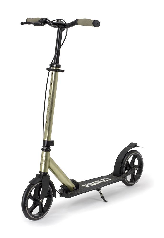 FRENZY SCOOTERS Frenzy 205 Dual Bremse Recreational Scooter Champagner 10+