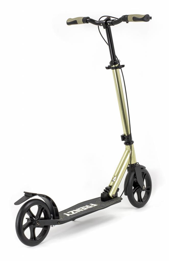 FRENZY Frenzy 205 Dual Bremse Recreational Scooter Champagner 10+
