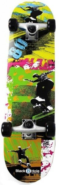 BLACK8HOLE Black8hole Skateboard Eighties 31""