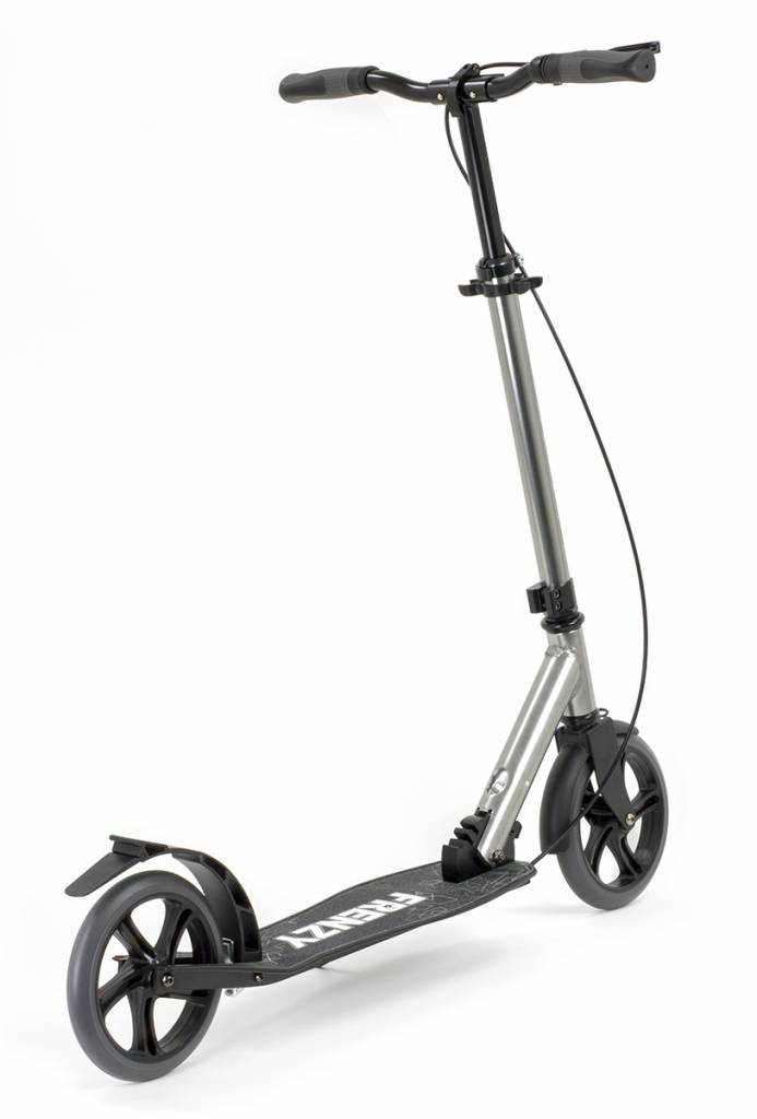 FRENZY SCOOTERS Frenzy 205 Dual Bremse Recreational Scooter Titanium 10+