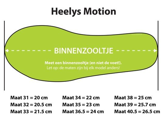 HEELYS MOTION PLUS PAARS/ROZE