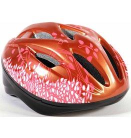 VOLARE Volare Kinder Fahrradhelm Deluxe Rosa Bronze