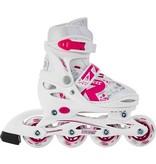 ROCES Inline Skates ROCES JOKEY 2.0 GIRL White/Pink