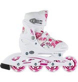 ROCES Inline Skates ROCES COMPY 8.0 GIRL White/Violet