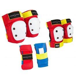 PRO-TEC PRO-TEC Beschermset rood/geel