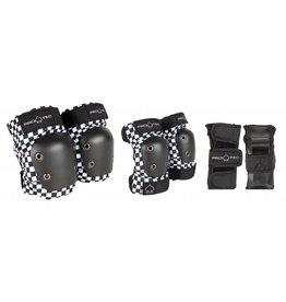 PRO-TEC PRO-TEC Beschermset, zwart/wit