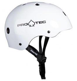 PRO-TEC Pro-Tec Classic Skate Helm, Weiß gloss