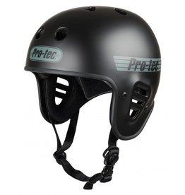 PRO-TEC Pro-Tec  Matt-Schwarz Trike Fullcut zertifiziert Skateboard Helm