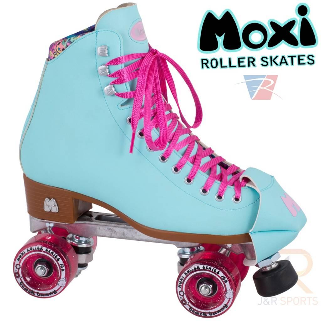 MOXI Moxi Beach Bunny Rollschuhe, Sky Blue