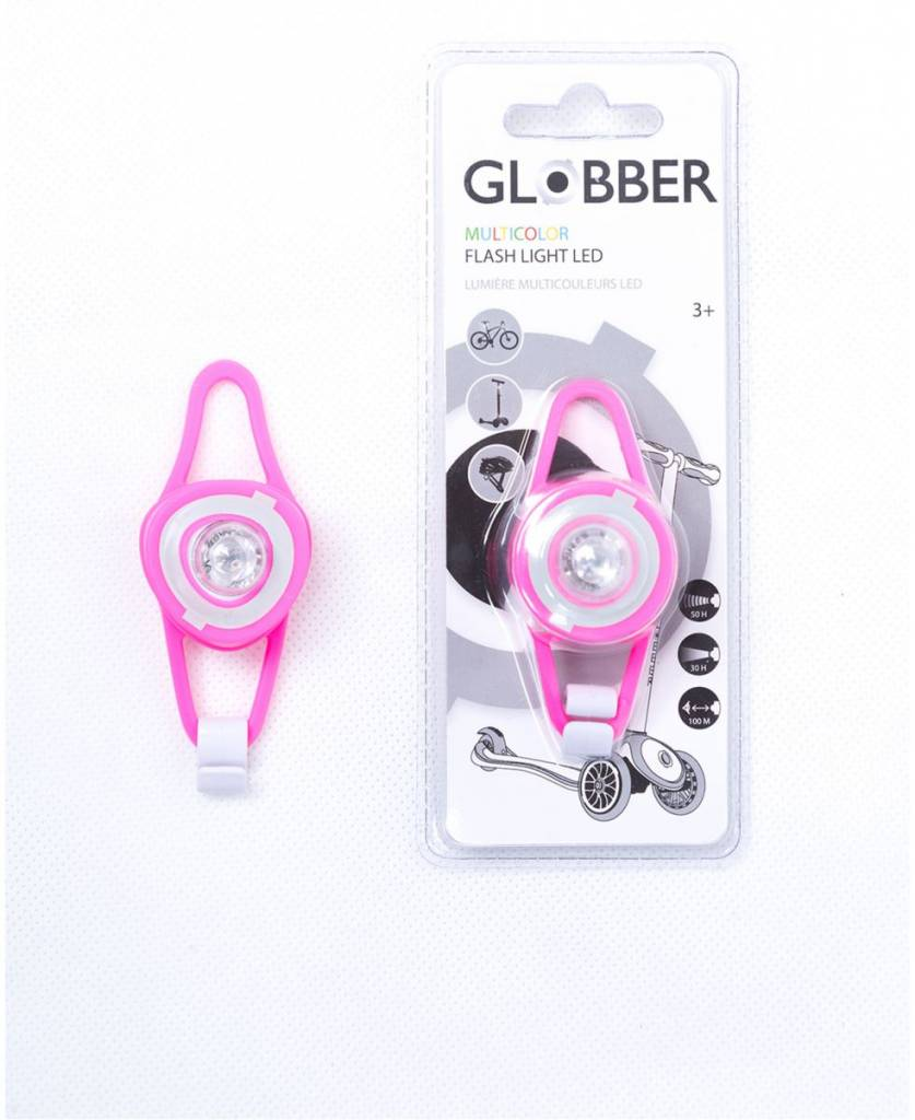GLOBBER FLASH LIGHT LED LAMPJE, ROZE