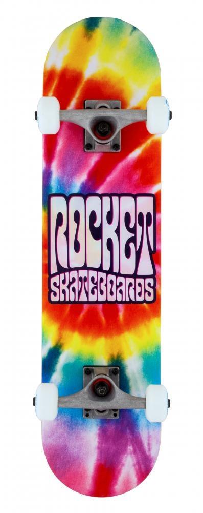 ROCKET SKATEBOARD ROCKET COMPLETE MINI SKATEBOARD, FLASHBACK