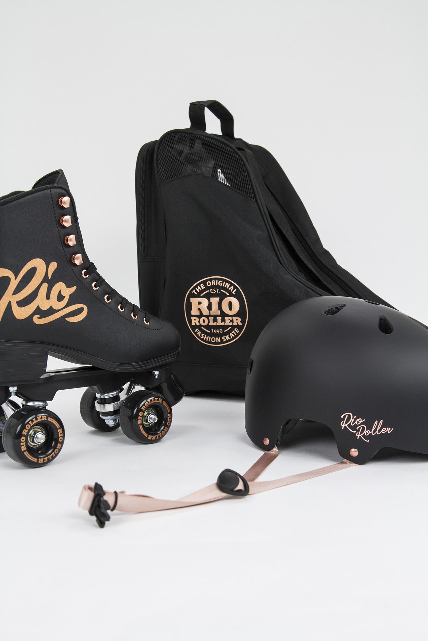 RIO ROLLER RIO ROLLER ROSE ROLSCHAATSEN, ZWART