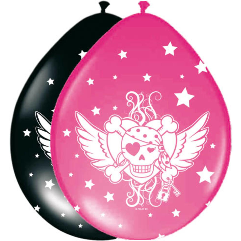 Ballonnen Pirate Girl /8st