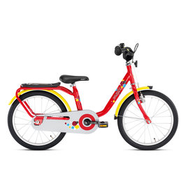 PUKY  PUKY 16 INCH KINDERFIETS, ROOD/GEEL