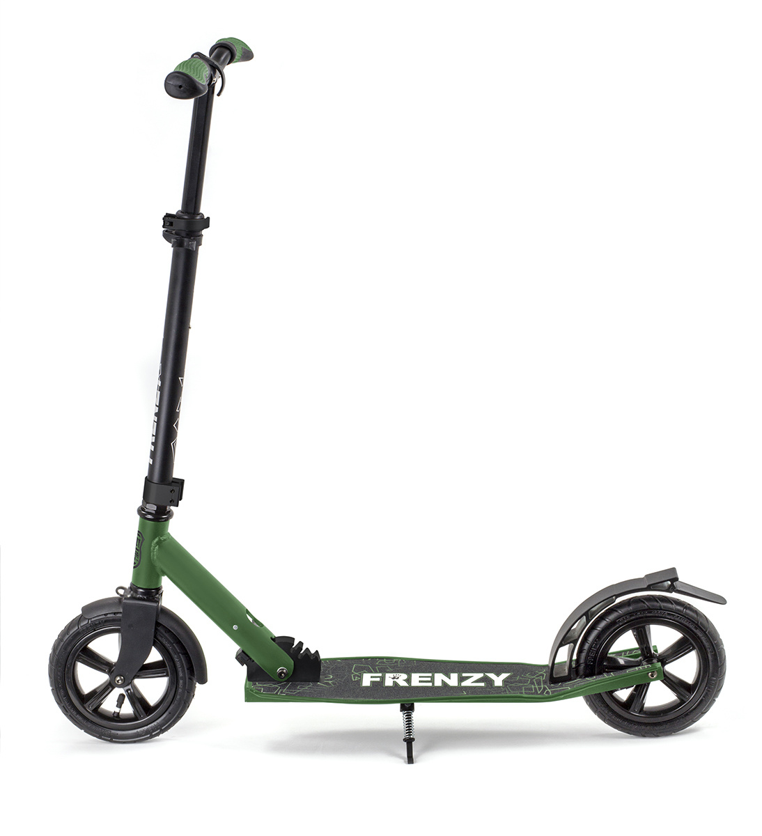 FRENZY SCOOTERS Frenzy Scooter Pneumatic 205mm Cityroller, Military 10+