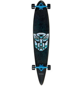 CHOKE SKATEBOARDS HASBRO TRANSFORMERS PINTAIL LONGBOARD