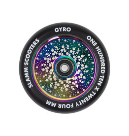 SLAMM SLAMM NEONCHROME 110MM GYRO HOLLOW CORE WIELEN
