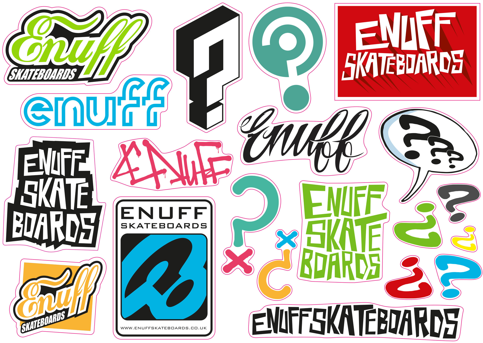 ENUFF SKATEBOARDS ENUFF ICON CON SKATEBOARD, GRÜN