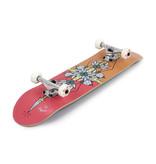 ENUFF SKATEBOARDS ENUFF FLASH COMPLETE SKATEBOARD, ROOD/ORANJE