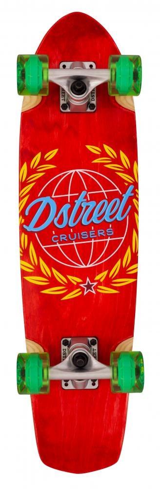 D-STREET D-STREET SURFSKATE ATLAS, ROOD