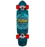 D-STREET D-STREET SURFSKATE ATLAS, BLAUW