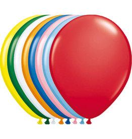 FOLAT Ballon verschiedene Farben - 100 Stück