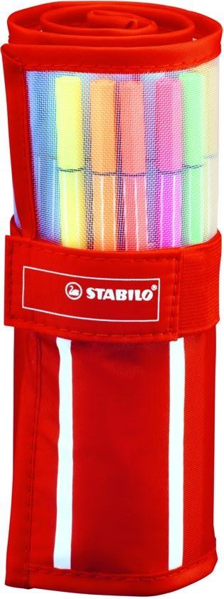 STABILO VILTSTIFTEN STABILO PEN 68 ROLLERSET: 30 STUKS