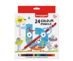 12 Hochwertig Kinder Farbstifte Bruynzeel Farbstifte