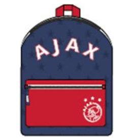 AFC AJAX RUGZAK AJAX KLEIN AFC BLAUW: 28X21X11 CM