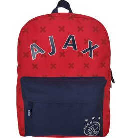 AFC AJAX RUGZAK AJAX KLEIN AFC ROOD: 28X21X11 CM