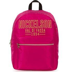 NICKELSON RUGZAK NICKELSON GIRLS PINK: 43X33X17 CM