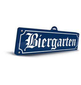 OKTOBERFEST 3D BORD BIERGARTEN OKTOBERFEST