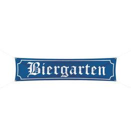 OKTOBERFEST SPRUCHBAND BIERGARTEN - 180X40 CM