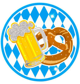 OKTOBERFEST LED PARTY BADGE OKTOBERFEST