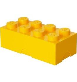 LEGO LUNCHBOX LEGO: BRICK 8 GEEL
