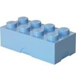 LEGO LUNCHBOX LEGO: BRICK 8 LICHT BLAUW