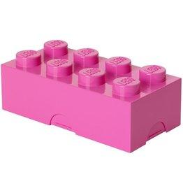 LEGO LUNCHBOX LEGO: BRICK 8 ROZE