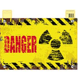 HALLOWEEN DEURBORD DANGER 37CM