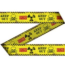 HALLOWEEN AFZETLINT DANGER/KEEP OUT 15 METER