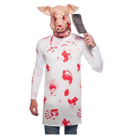 HALLOWEEN HORROR PIG MASKER LATEX