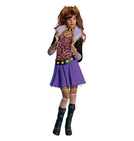 HALLOWEEN MONSTER HIGH CLAWDEEN KOSTÜM - KINDERGRÖßE S