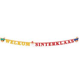 SINTERKLAAS NIKOLAUS UND PIET BUCHSTABENGIRLANDE - 2,30 METER