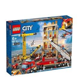 LEGO LEGO CITY BRANDWEERKAZERNE IN DE STAD