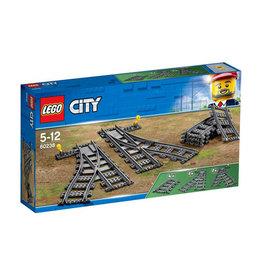 LEGO LEGO CITY TREIN WISSELS