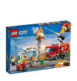 LEGO LEGO CITY BRAND BIJ HET HAMBURGERRESTAURANT